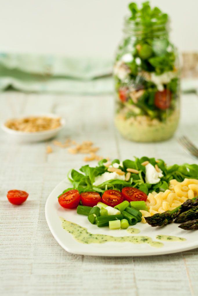 Lunch Im Glas Alias Gruner Spargel Nudelsalat Alle Rezepte Vom