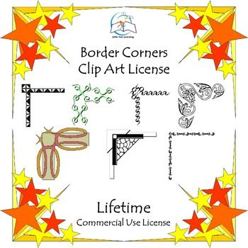 ***LIFETIME LICENSE*** EYE-CATCHING Border Corners Clip Art. I hope you'll enjoy using these Border Corners Clip Art images for your TpT covers, websites, blogs, scrapbooking, newsletters, and more. ******************************************************************************This bundle includes: 187 sets of four-cornered images (751 images in total).