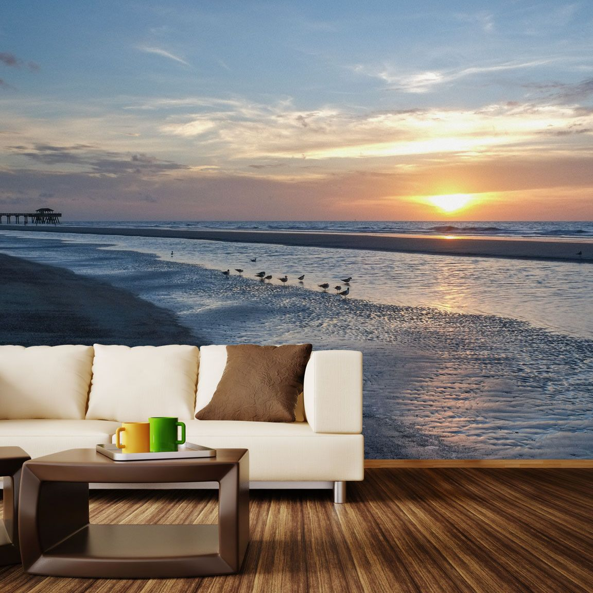 13+ Outdoor wall beach decor ideas in 2021