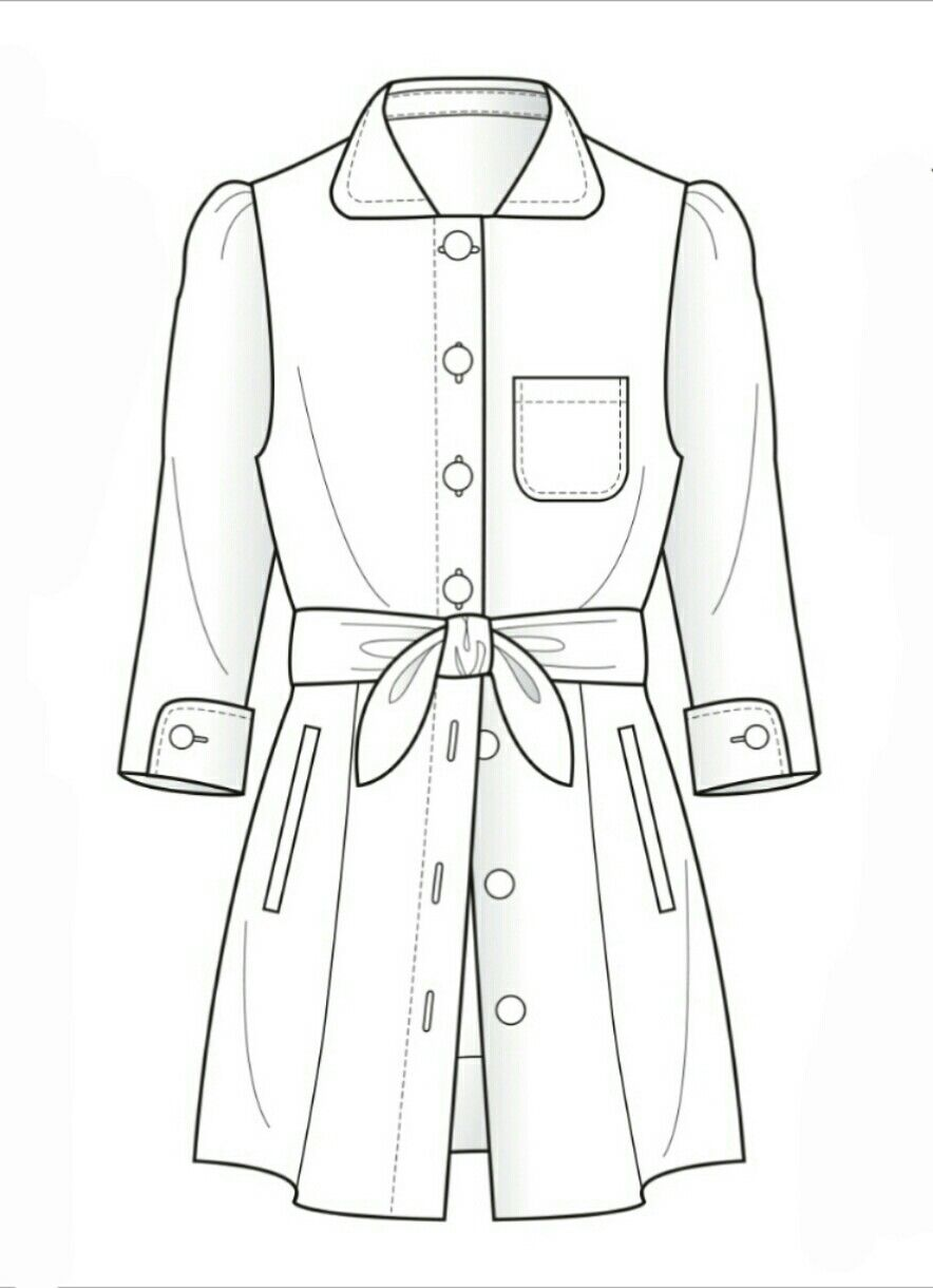 Line Drawing Jacket : Jacket technical flat flats sketches pinterest