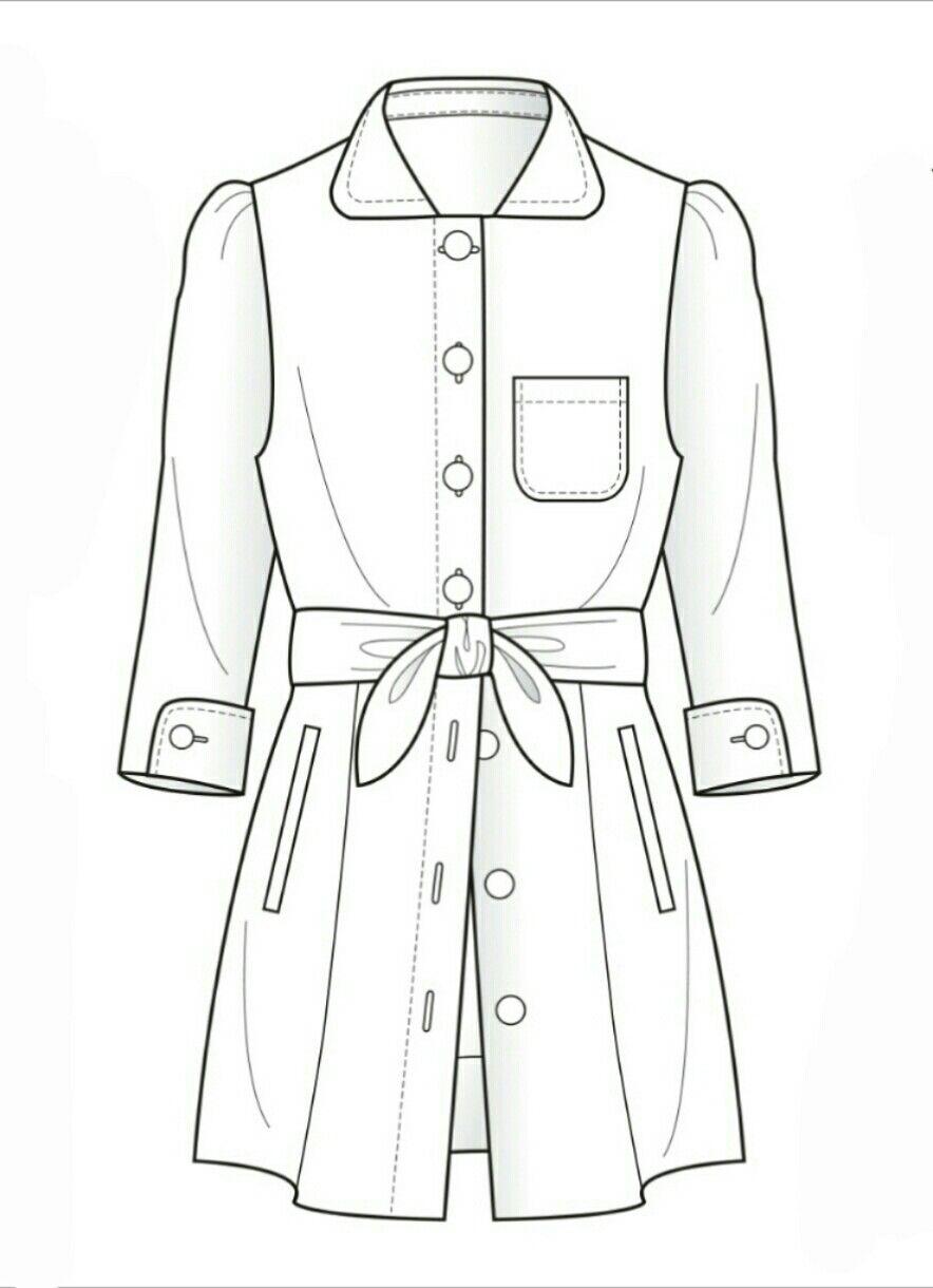 Как научиться рисовать эскизы одежды на курсах в Москве?