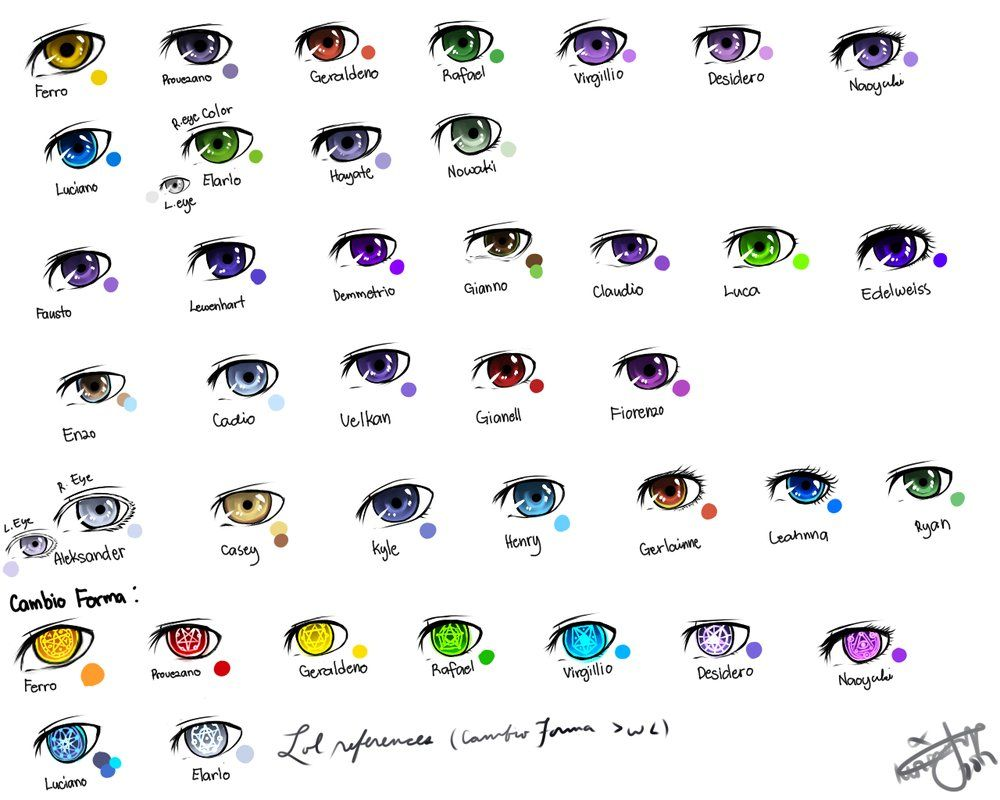 Colored manga websites - Anime Eyes Color T M V I Google