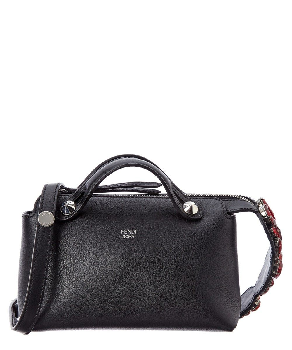 ceb1d3c07ab FENDI Fendi Mini By The Way Heart Embellished Leather Boston Bag .  fendi   bags  shoulder bags  hand bags  leather  lining