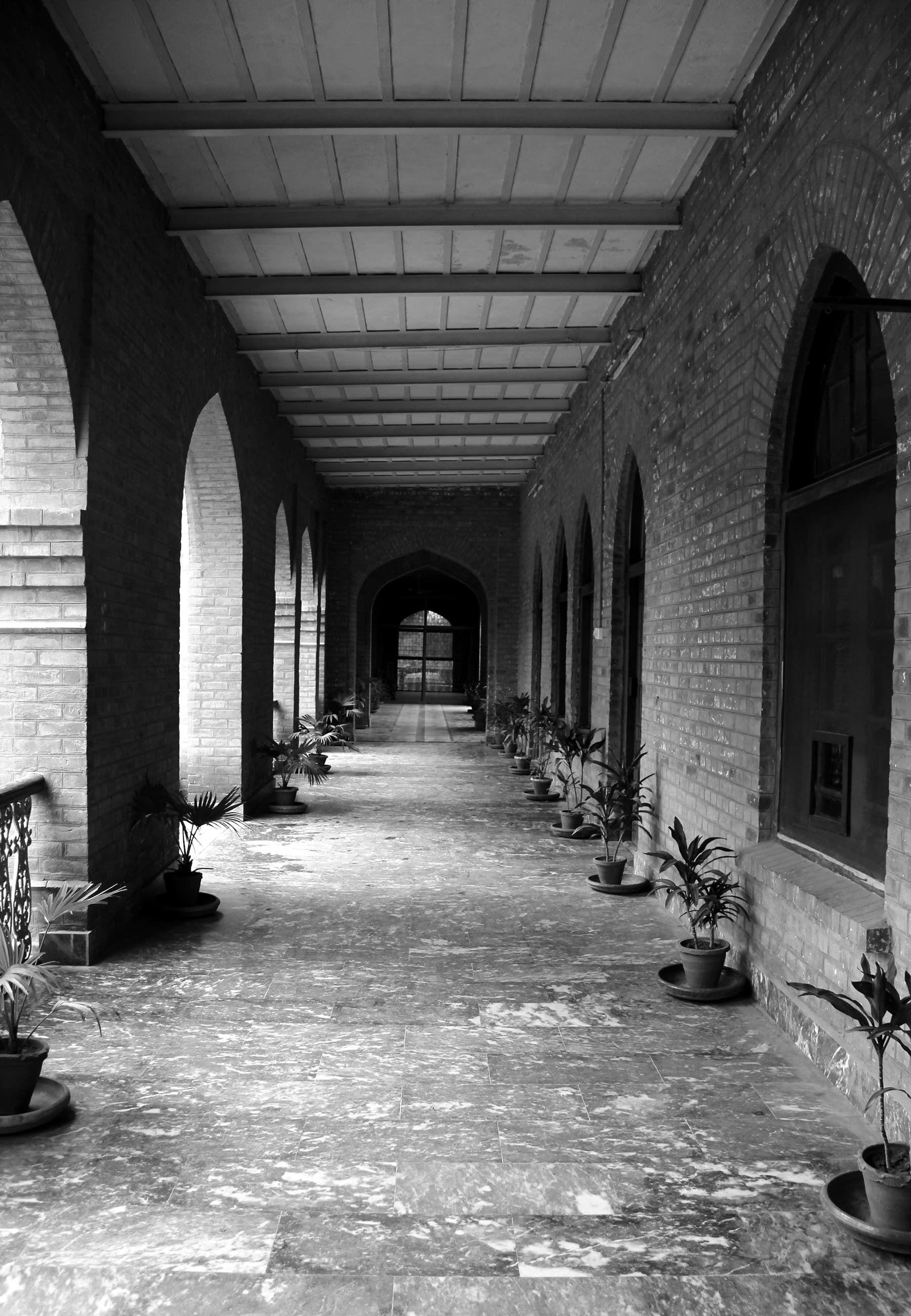 Corridor administrative wing islamia college peshawar