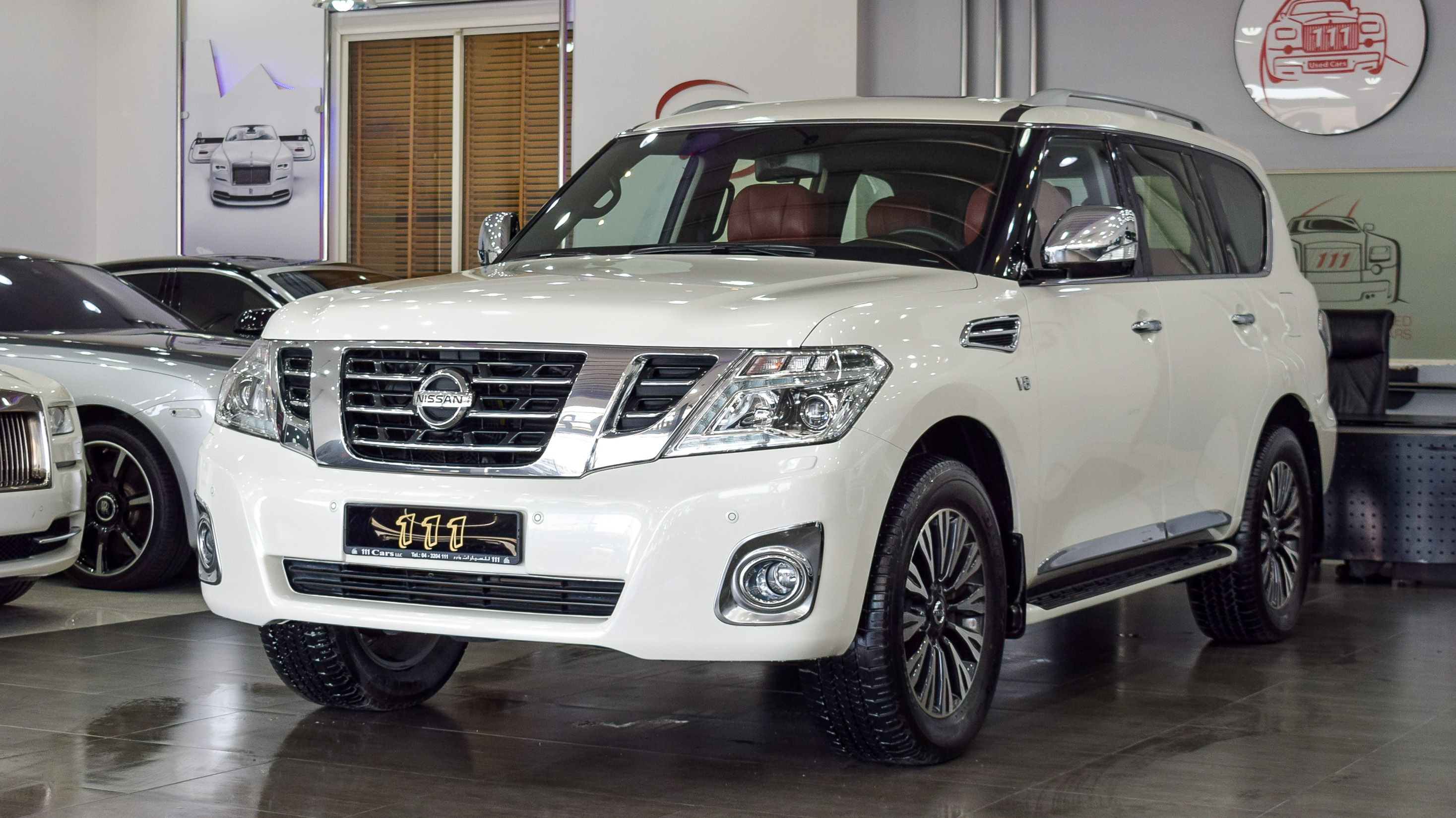 2019 Nissan Patrol Titanium Le Vvel Dig With Platinum Badge Gcc Specifications In 2020 Nissan Patrol Nissan Badge