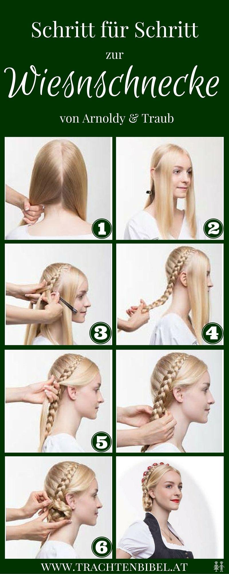Dirndlfrisur In 6 Schritten Zur Wiesnschnecke Hair Lots Of