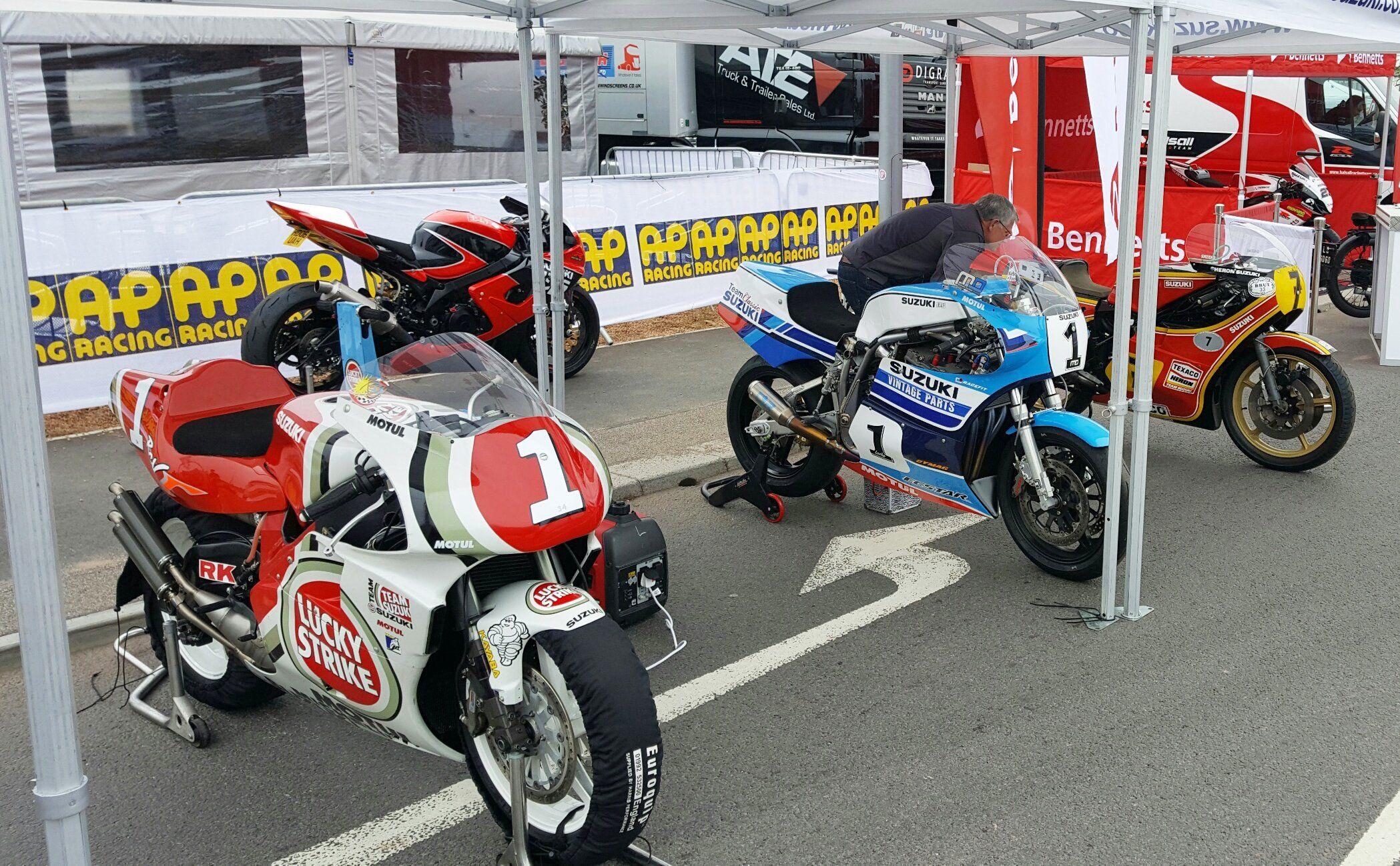Suzuki Classic GP Racers