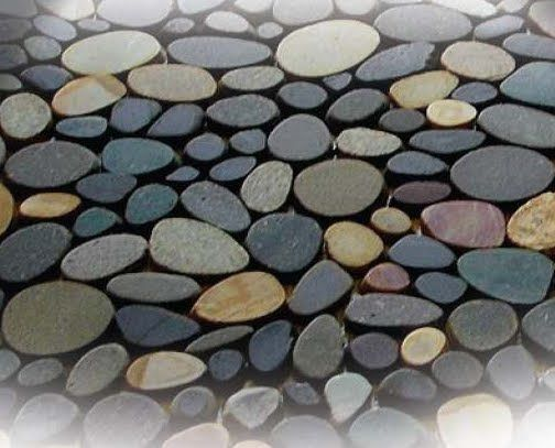 River Pebble Flooring Tips Of The Trade River Rock Tile