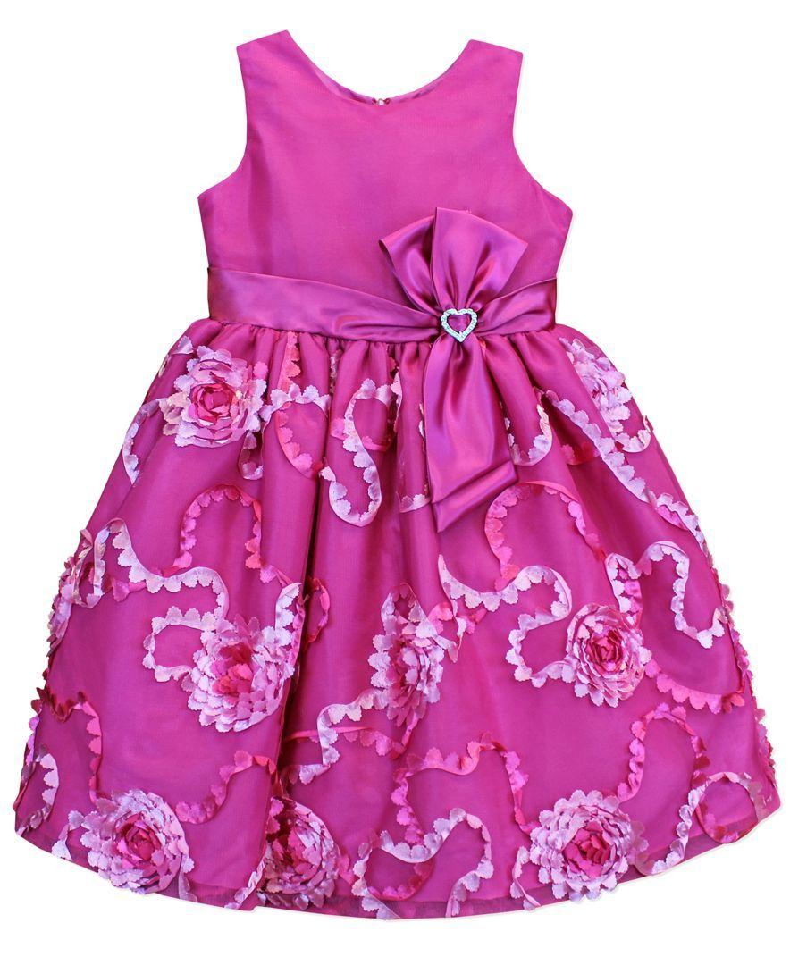 Jayne Copeland Little Girls' Soutache Dress