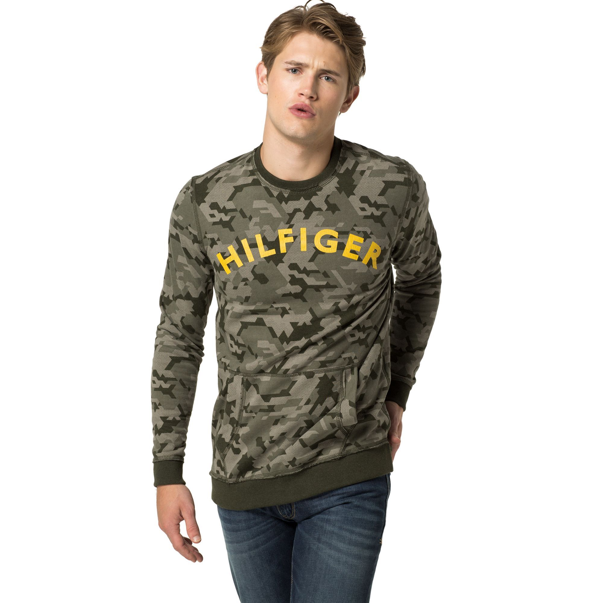 b848d5fc0 TOMMY HILFIGER CAMO FLEECE - CAMOUFLAGE FOREST NIGHT. #tommyhilfiger ...