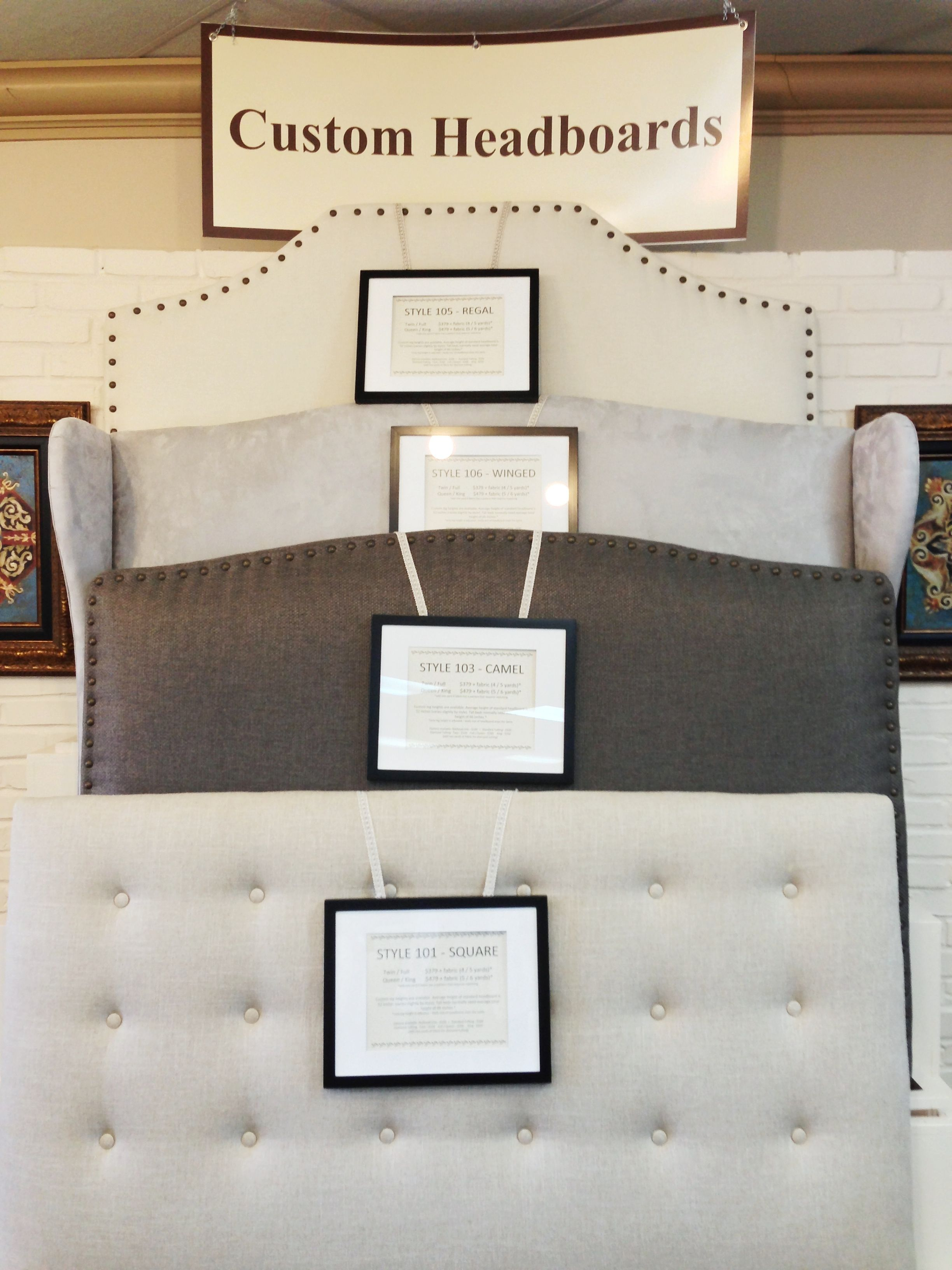 Custom Headboards At Interior Fabrics Houston Area 39 S Best Shops Pinterest Custom Headboard