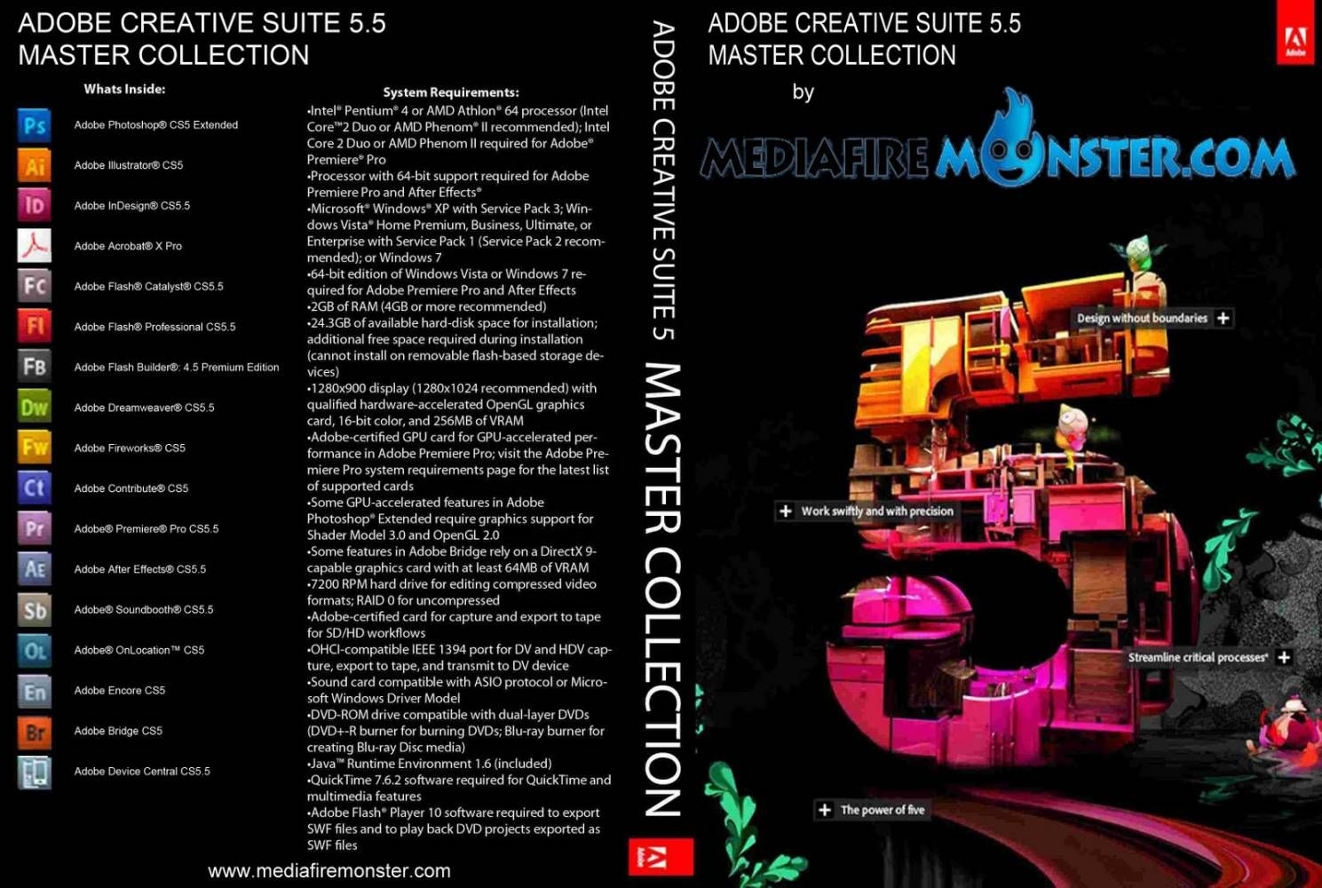 Oem Creative Suite 5.5 Design Standard