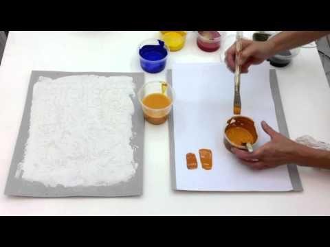 pintar fcil pintura em tela abstratos iniciantes aula youtube