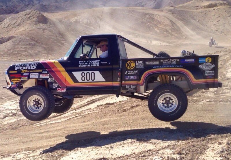Robby Gordon 1990 Off Road Racing Offroad Ford Pickup Trucks