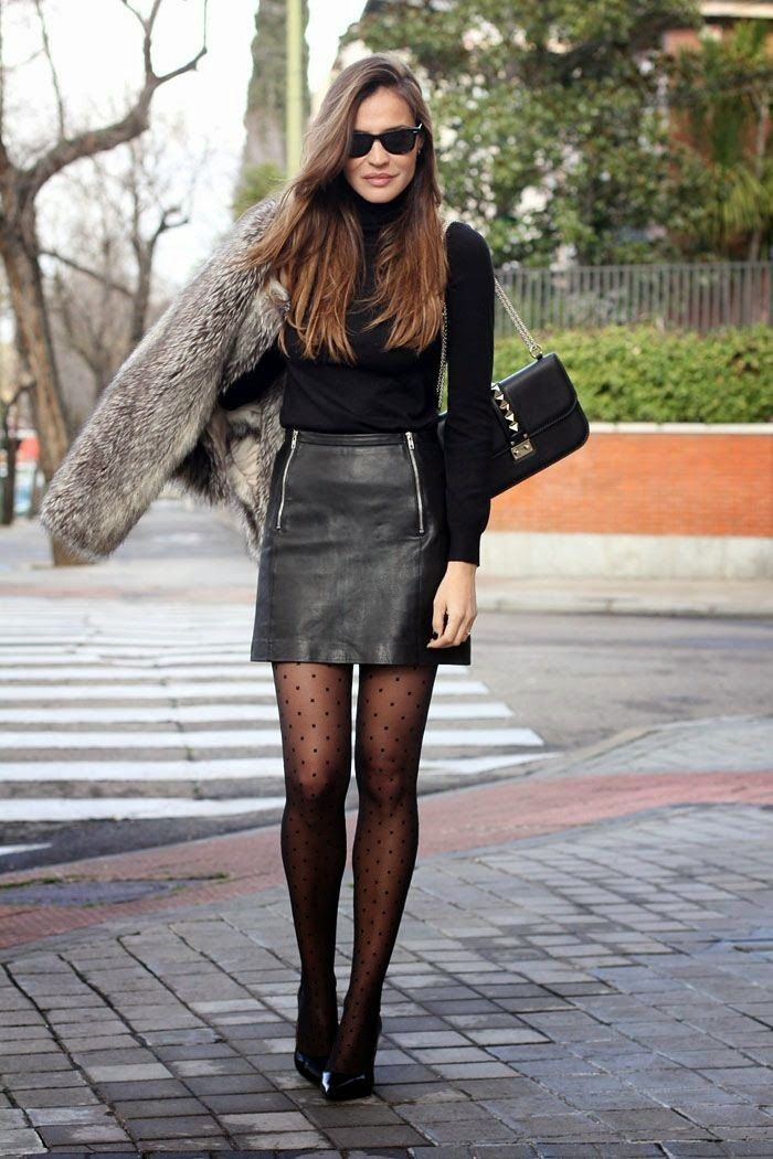 Leather skirts in Teens