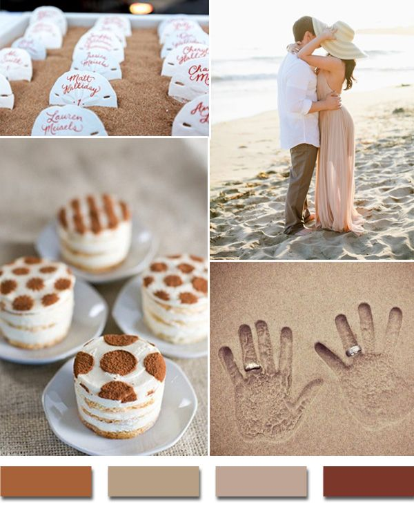 Por Summer Beach Wedding Color Palettes 2017 Trends