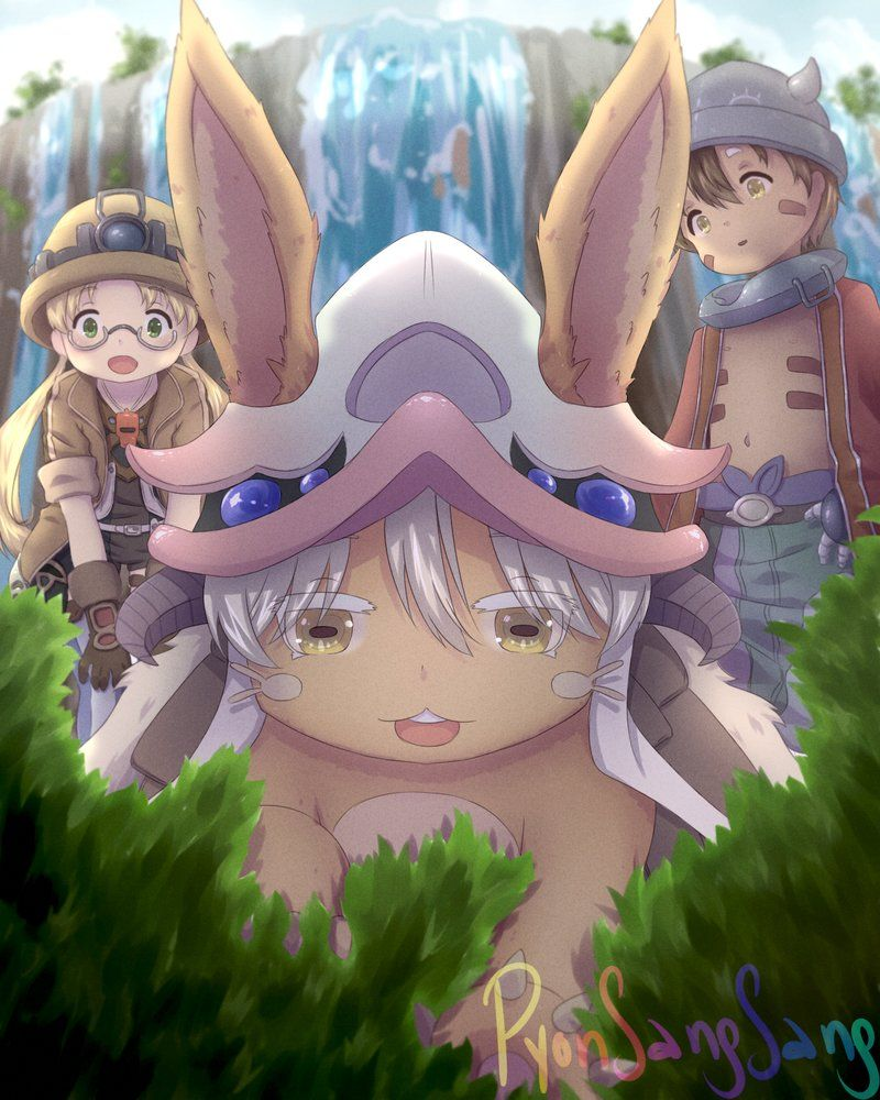 Made in abyss by pyonsangsang anime drawings how to make