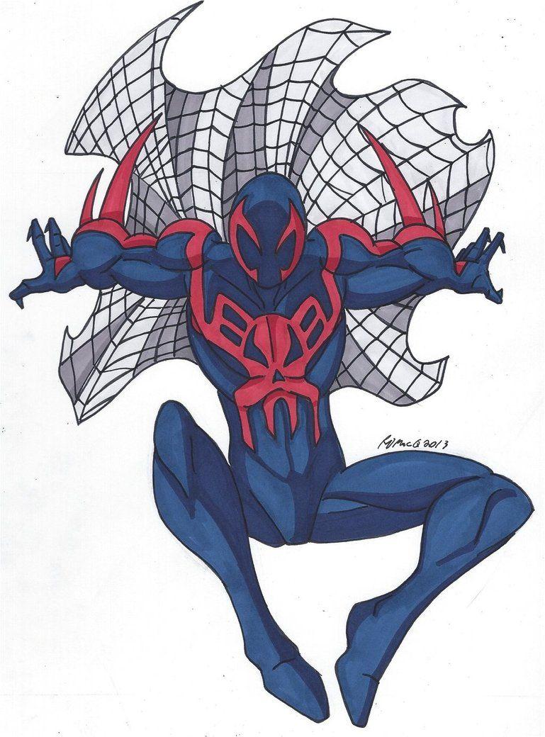 Spidey Series Spider Man 2099 By Robertmacquarrie1 Spiderman Spiderman Comic Spider