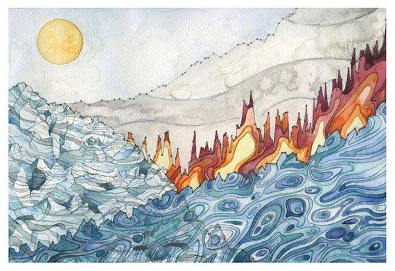 Landscape Of Change Artist Art Painting