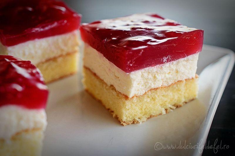 Prajitura Cu Branza Si Budinca De Visine Dulciuri Fel De Fel Recipe Sweets Recipes Cookie Recipes Dessert Recipes