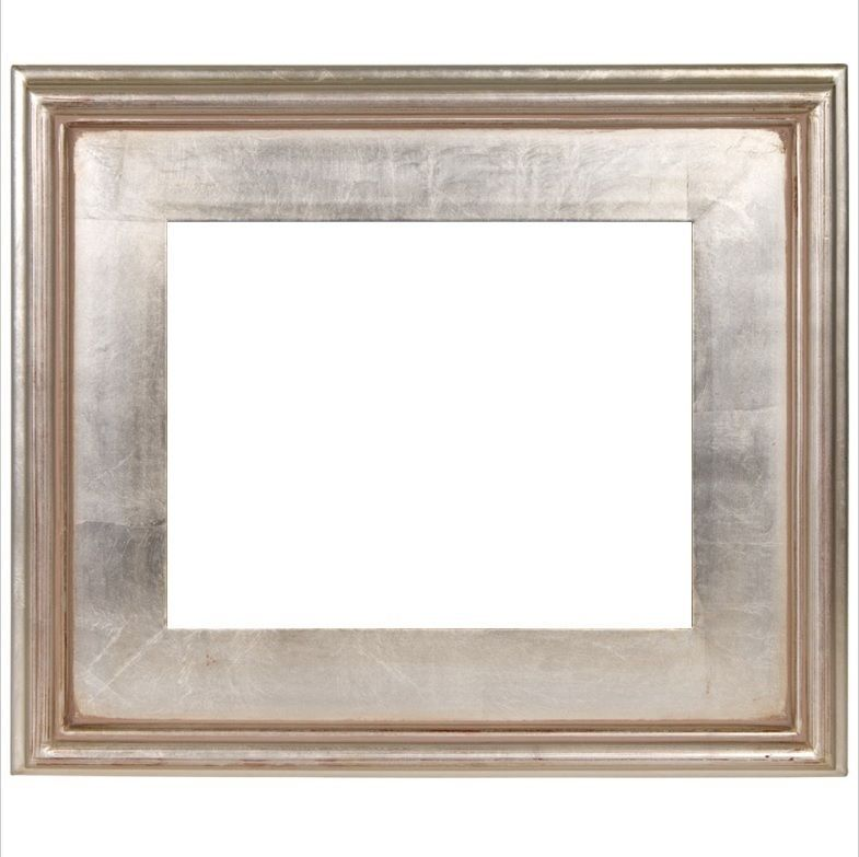 3 Wide Classic Modern Picture Art Painting Frame Plein Air Wood Silver Leaf Marcos Modernos Marcos Modernos Para Cuadros Marcos