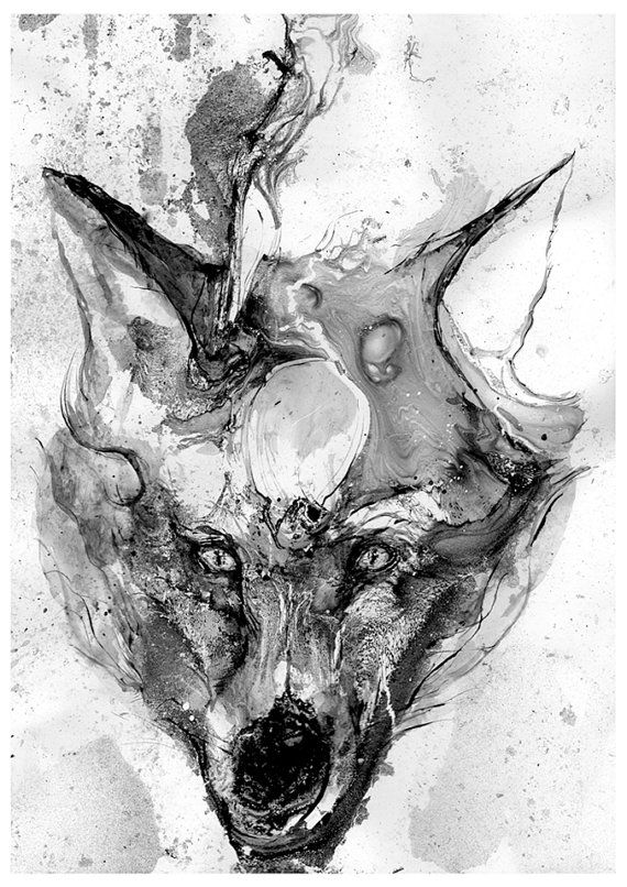This Is A High Quality Print Of My Original Black And White Acrylic Ink Painting QUALITY Your Artwork Professionally Giclee Printed On Heavyweight
