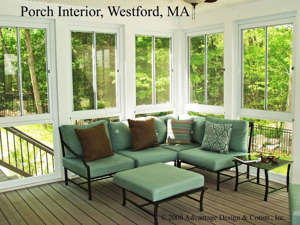 Interior Of Westford 3 Season Porch 3 4 Season Rooms
