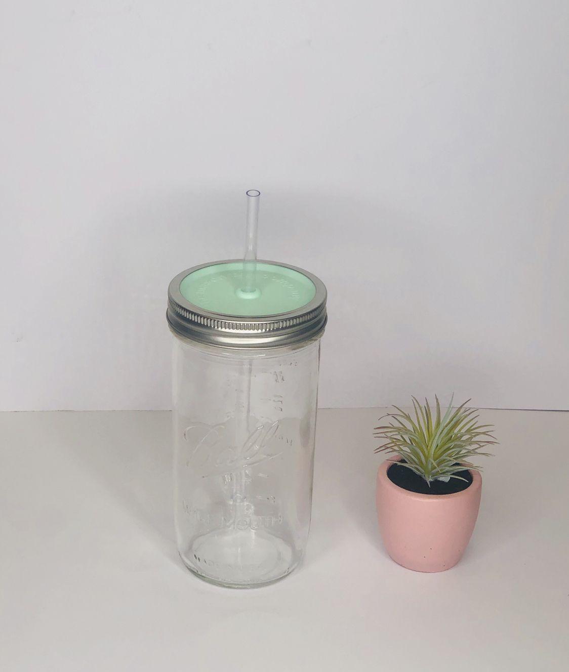Our Original 24 With The Classic Mint Lid Mason Jar Tumbler Mason Jar Lamp Mason Jars