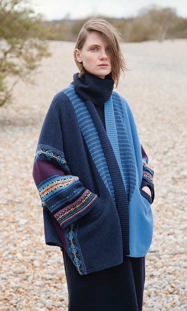 Oban cardigan | inspiration for fair isle placement | knit one ...