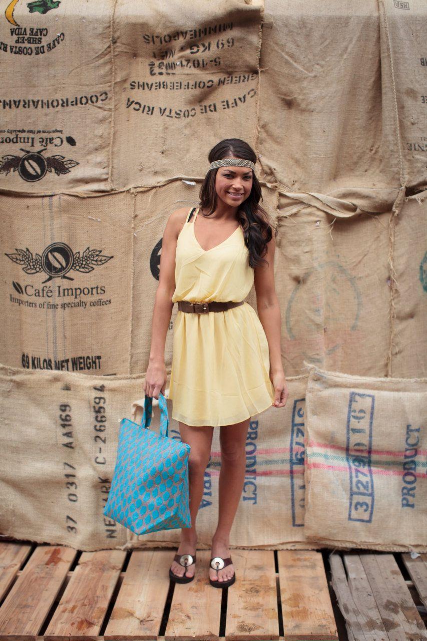 Bad Habit Boutique - Solid Yellow Tank Dress, $49.00 (http://www.shopbhb.com/solid-yellow-tank-dress/)