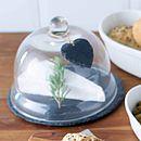 Slate Heart Design Cake Holder