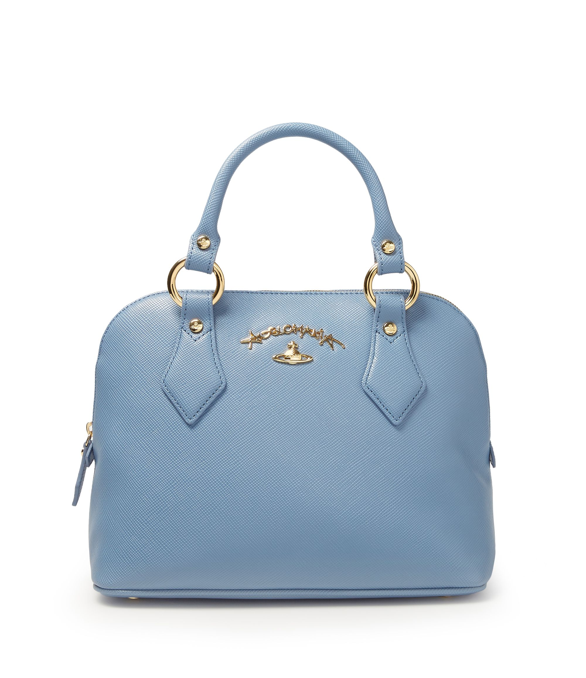 c7bc466d6a04 VIVIENNE WESTWOOD Divina Bag 7281 Blue.  viviennewestwood  bags  shoulder  bags  leather