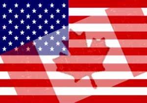 8dab3e3a065 The AmeriCanada flag courtesy of The White Rock Sun of White Rock ...