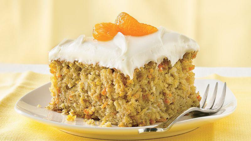 orange cake mix with mandarin oranges