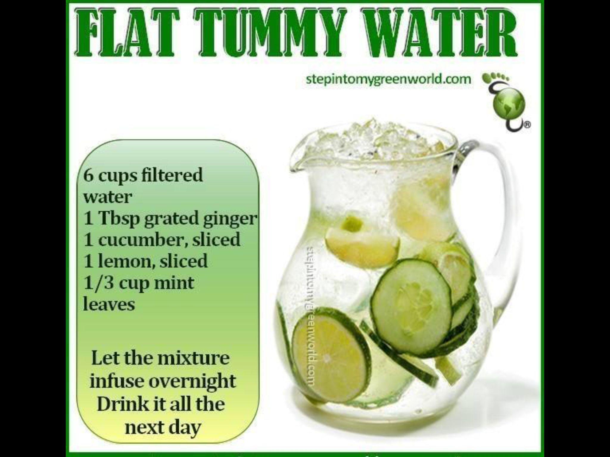 Flat Tummy Water
