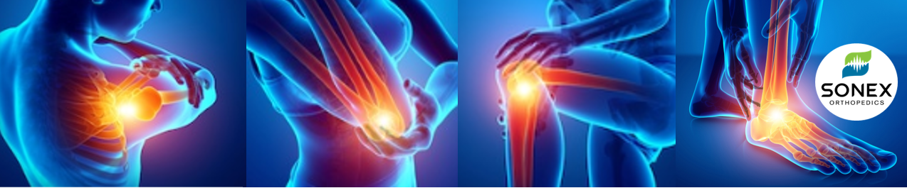 What we do at Sonex Orthopedics is simple, we improve our client's quality of life through the natural healing stimulated by High-Energy Shockwave Therapy.  We provide OrthoWave and OsteoWave treatments, the best treatment alternatives for orthopedic pain such as plantar fasciitis, Achilles tendonitis, patellar tendonitis, jumpers knee, Osgood-Schlatter, shoulder tendonitis, calcifications, partial tears, tennis elbow, golfers elbow, greater trochanteric pain syndrome and more.