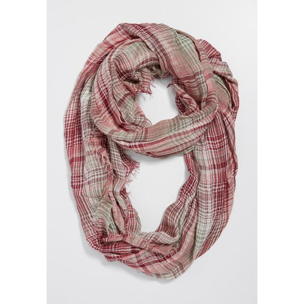 maurices Plaid Infinity Scarf With Ethnic Stitched Stripes, Women's, (£12) ❤ liked on Polyvore featuring accessories, scarves, tartan scarves, striped infinity scarves, tartan shawl, infinity scarf and infinity scarves