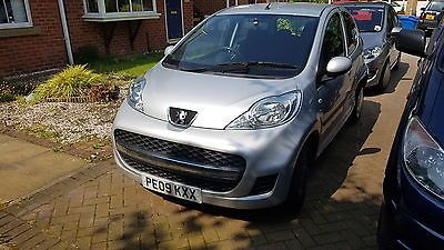 eBay: 2009 PEUGEOT 107 URBAN SILVER DAMAGED DRIVE AWAY AYGO C1 ...