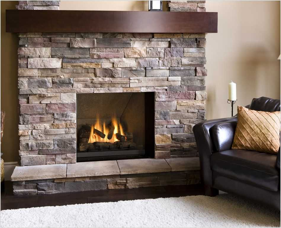 Best Stone Fireplace Ideas And Decor Tips With Images Airstone Fireplace Fireplace Remodel Fireplace Surrounds