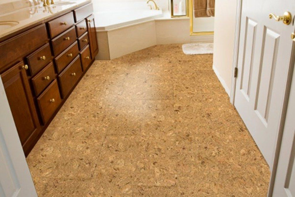 Beautiful Cork Flooring In Bathroom   Http://homedecormodel.com/cork Flooring