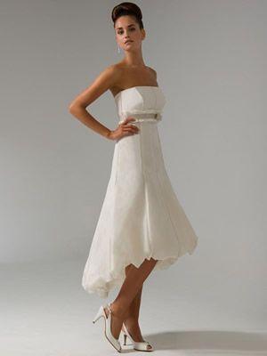 Neueste Kurze Brautkleider - Tipps 2015   Kleid Standesamt ...