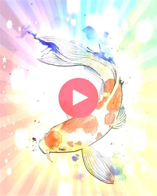 all colored in This koi is done   20 all colored in This koi is done20 all colored in This koi is done Learn to paint watercolor galaxies in my Skillshare class Make this...