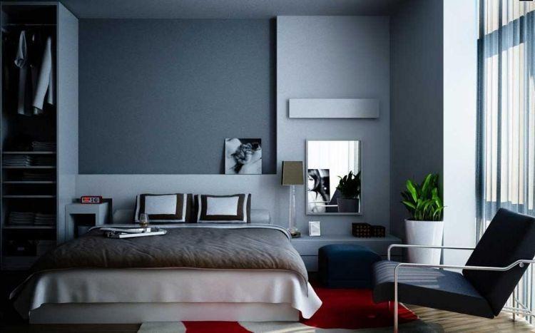 Wandfarbe Grau Kombinieren 55 Deko Ideen Und Tipps Schlafzimmer