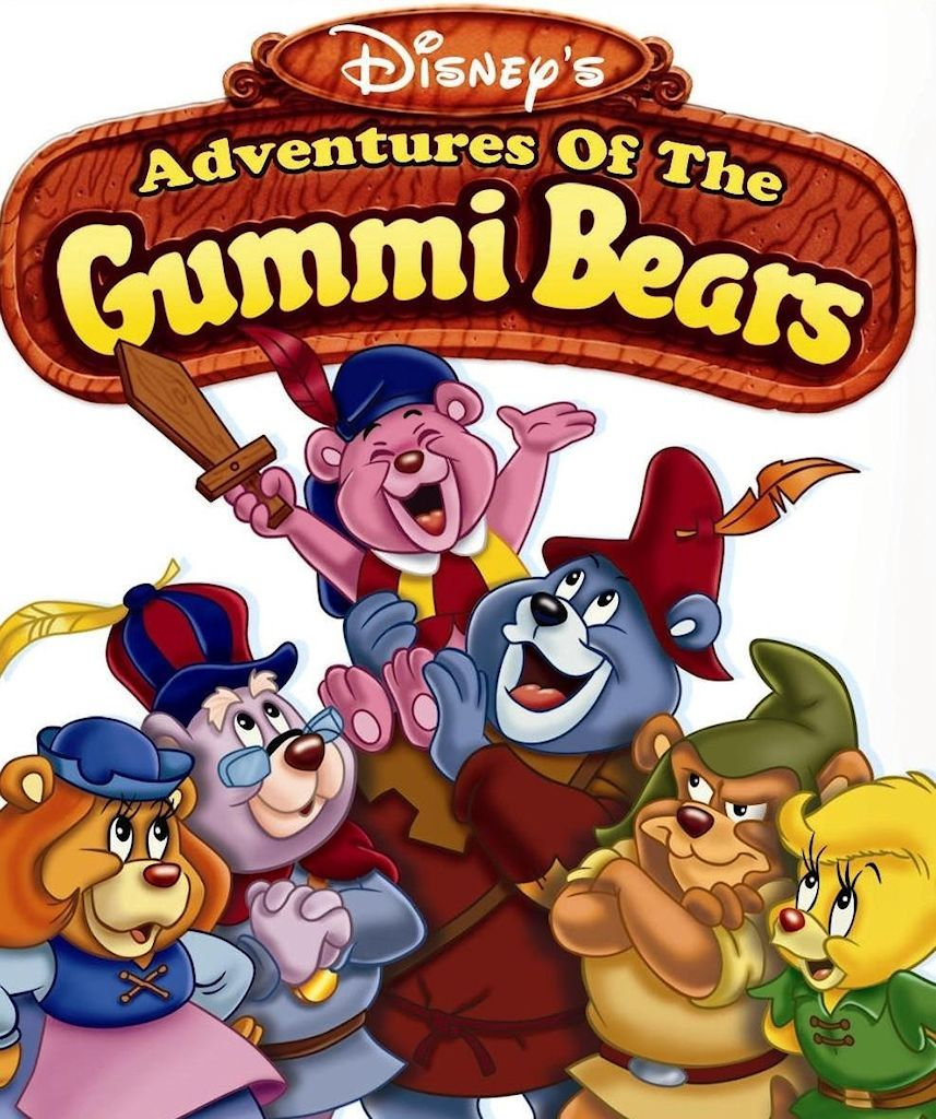 Disney On Tv Gummi Bears Gummy Bears Childhood Gummies