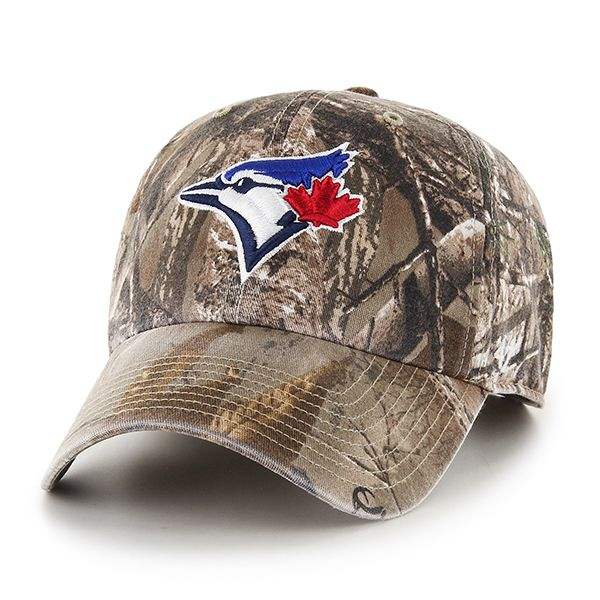 b9e6a8060f89e0 Toronto Blue Jays Realtree Clean Up Realtree 47 Brand Adjustable Hat ...