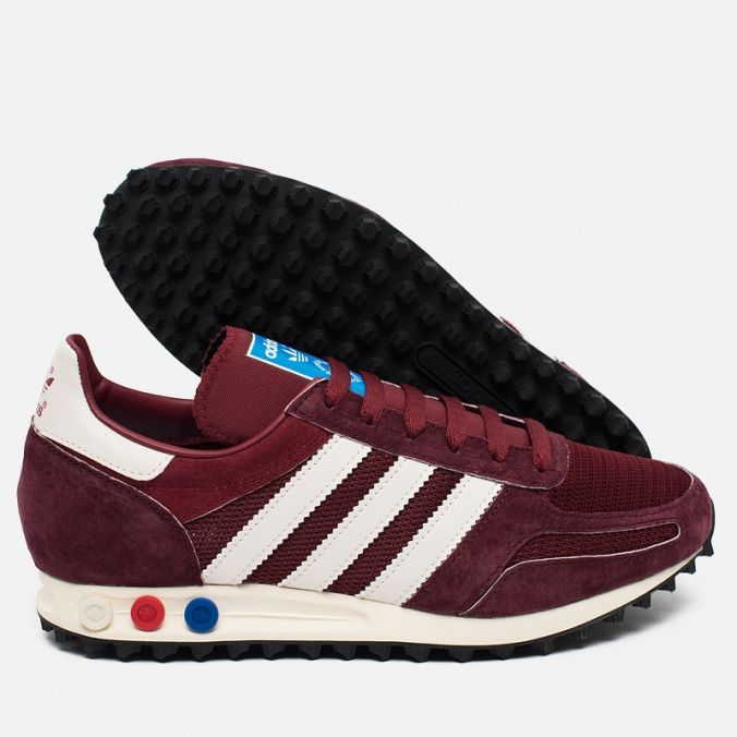 Кроссовки adidas Originals LA Trainer OG Burgundy/White/Black S79941