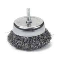 "2-1/2"""""""" Crimped Wire Cup Brush"