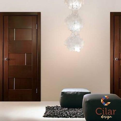 Minimalist wooden door, custom wooden door, cool wooden door, p …