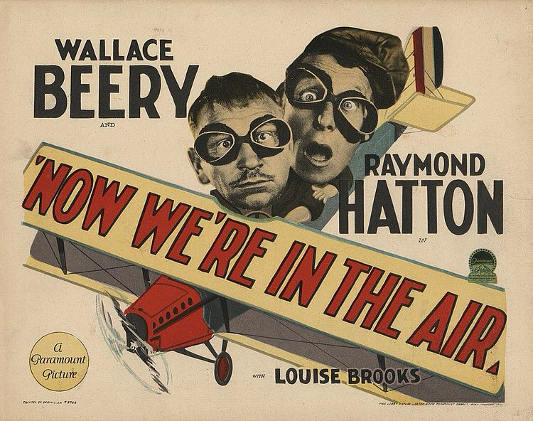 Lobby Card from the film Now Were In The Air