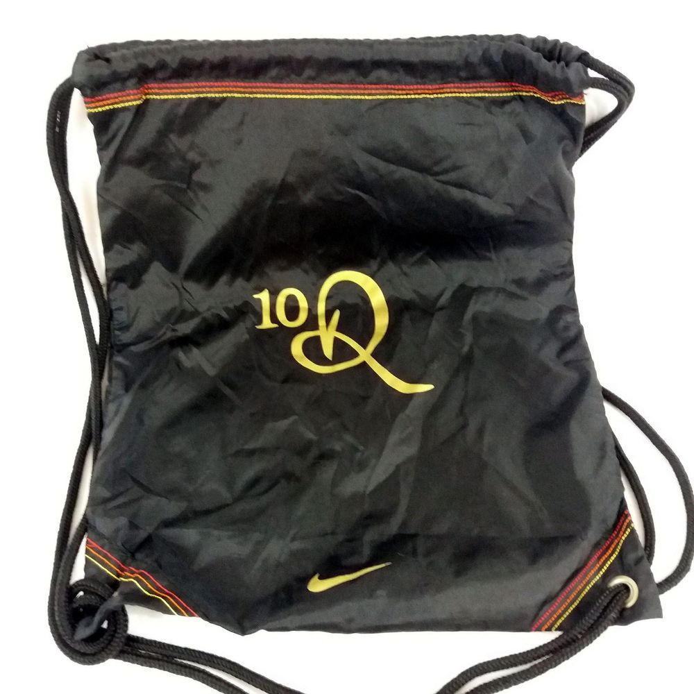 33c66160912b5 Nike Tiempo Ronaldinho Soccer String Bag Backpack 10R Football ...